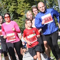 SEB Tallinna Maraton - Ander Peipin (943), Kadri Kell (1936), Markus Kivistik (5724)