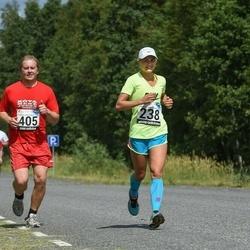 2. Suvejooks ümber Saadjärve - Ann-Christine Allik (238), Rainer Orav (405)