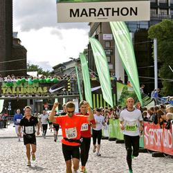 SEB Tallinna Maraton - Maciej Moryc (865), Armands Talums (1437)