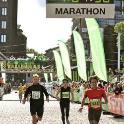 SEB Tallinna Maraton - Andre Viira (421), Ando Meerbach (1541), Andrei Gelitsev (1997)