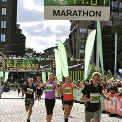 SEB Tallinna Maraton - Johanna Pura (369), Anni Pura (1656)