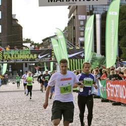 SEB Tallinn Marathon - Tarvi Tameri (56), Aimar Liiver (280)