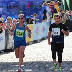 SEB Tallinna Maraton - Reget Roomet (524), Arno Sibul (584)