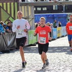 SEB Tallinna Maraton - Ago Peets (950), Artur Laur (951)