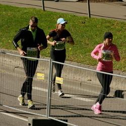 SEB Tallinna Maraton - Kaija Tarassova (1081), Amor Saal (1612), Marge Kann (1935)
