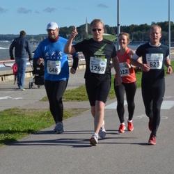 SEB Tallinna Maraton - Ahti Vuks (648), Ari Vepsäläinen (823), Mika Oikarainen (1298)