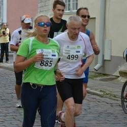 SEB Tallinna Maraton - Urmas Lorvi (499), Anastasia Gerassimova (885)