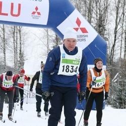 38. Tartu Maraton - Mare Must (1615), Mihkel Maala (1834), Aarne Rohtvee (3474)