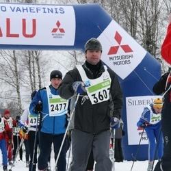 38. Tartu Maraton - Teet Vähesoo (2477), Aarne Ladva (3607)