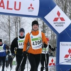 38. Tartu Maraton - Gunita Melbarde (4209), Arne Pikk (4718)