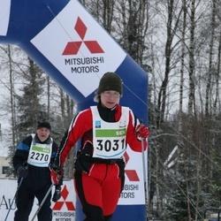 38. Tartu Maraton - Aado Luik (2270), Kersti Vennik (3031)