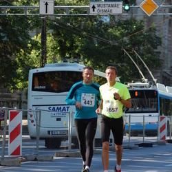 SEB Tallinna Maraton - Jüri Linde (443), Ago Saluveer (1657)