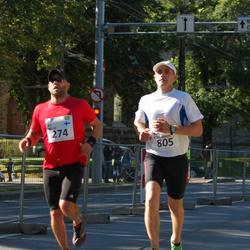 SEB Tallinna Maraton - Ari Wolff (274), Madis Rouhijainen (805)