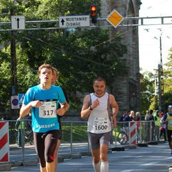 SEB Tallinna Maraton - Taago Tulf (317), Arno Vaik (1600)