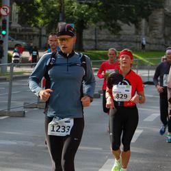 SEB Tallinna Maraton - Eha Lehtoja (829), Aarne Vasarik (1233)