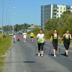 Tartu Suvejooks - Merily Unuks (954), Anneli Unuks (982), Kristiina Papp (1036)