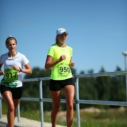 Tartu Suvejooks - Birgit Kasela (917), Mari-Ann Lepp (950)