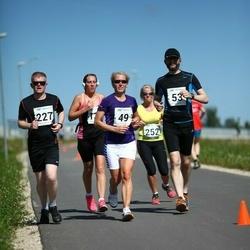 Tartu Suvejooks - Airi Laurits (49), Alari Kannus (53), Rait Ojanurme (227), Age Jakobson (252)