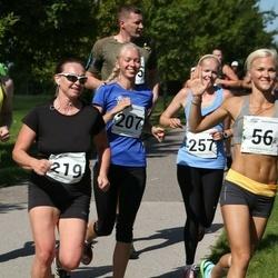 Tartu Suvejooks - Engeli Vennik (56), Brita Kaasik (207), Kairit Reiman (219), Runnar Lindepuu (259)
