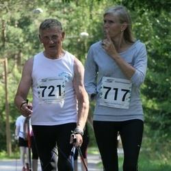 Tartu Suvejooks - Annely Ojastu (717), Viktor Ilves (721)