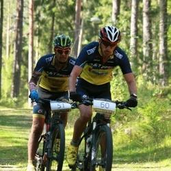 Valgehobusemäe Rattamaraton - Aivar Lipp (51), Alari Kannel (60)
