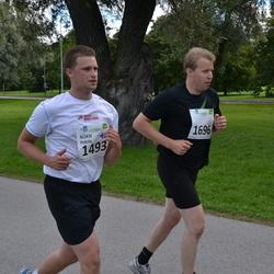 SEB Tallinna Maraton - Aleksi Peltola (1493), Tuomas Weckman (1696)