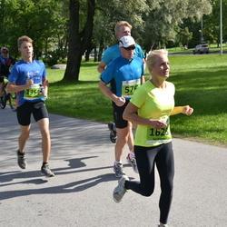 SEB Tallinna Maraton - Jüri Soovik (576), Andrey Manuilov (1354), Aet Ristmägi (1628)