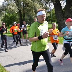 SEB Tallinna Maraton - Jaanus Kaik (738), Britt Pellä (1239)