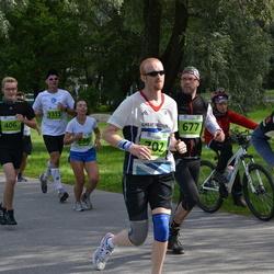 SEB Tallinna Maraton - Siim Tarbe (406), Julia Seleznjova (656), Allan Viirma (677), Russell Flynn (702), Artur Praun (1311)