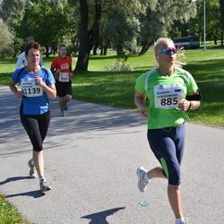 SEB Tallinna Maraton - Anastasia Gerassimova (885), Johanna Vironmäki (1139)