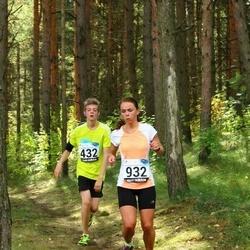 43. jooks ümber Ülemiste järve - Boris Kofman (432), Eret Tomband (932)