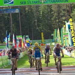 SEB 15. Tartu Rattamaraton - Caspar Austa (2), Peeter Pruus (14), Helmet Tamkõrv (16)