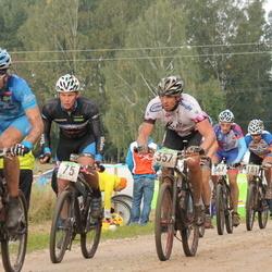 SEB 15. Tartu Rattamaraton - Mikk Vaaks (75), Riho Ever (278), Andre Pukk (357), Martins Lejins (367)