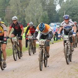 SEB 15. Tartu Rattamaraton - Alar Alumaa (234), Guntis Vilums (238), Vadim Haritonov (275), Risto Bogdanov (326)
