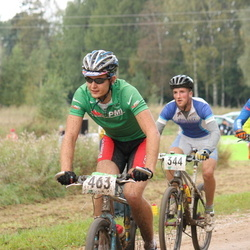 SEB 15. Tartu Rattamaraton - Mart Tilk (233), Reinis Rozenbergs (344), Artur Gornischeff (463)