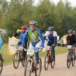 SEB 15. Tartu Rattamaraton - Jüri Kiens (530), Marek Ladva (697), Artis Kublins (898), Raivo Kiivit (1011), Madis Rahu (1112)
