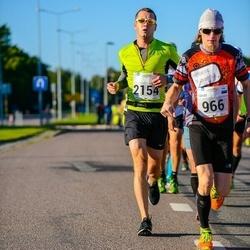 SEB Tallinna Maraton - Tarvo Siim (966), Aleksei Kuligin (2154)