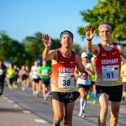 SEB Tallinna Maraton - Alexander Roeder (38), Jonas Lenz (91)