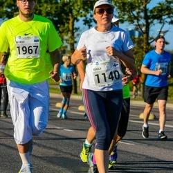 SEB Tallinna Maraton - Tuula Litmanen (1140), Aleksei Kapustin (1967)