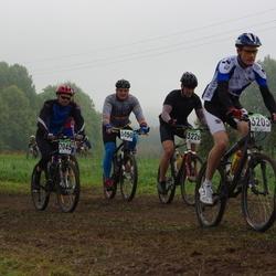 SEB 15. Tartu Rattamaraton - Enrico Salk (2045), Kristo Käis (3050), Handri Kuslap (3203), Artur Ratskovski (3226)