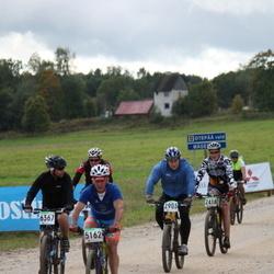 SEB 15. Tartu Rattamaraton - Margus Alttoa (2418), Rene Oruman (2903), Andi Sõmmer (5162), Rait Miltop (6367)
