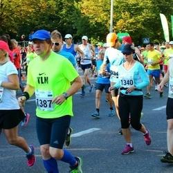 SEB Tallinna Maraton - Anna Metrycka (1028), Valev Altmets (1387)