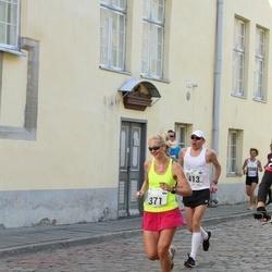 SEB Tallinna Maraton - Brit Rammul (371), Kristjan Niinemaa (413)