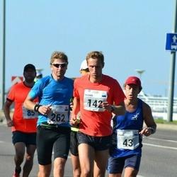 SEB Tallinna Maraton - Andre Abner (43), Ragnar Leimann (142), Indrek Tikva (262)