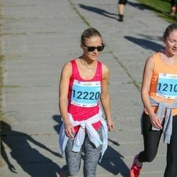 SEB Tallinna Maraton - Katja Mettus (12100), Anastassija Berdnikova (12220)