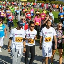 SEB Tallinna Maraton - Josepha Miltony (3219), Advait Shah (3221), Guy-Patrick Moutsinga (3224)