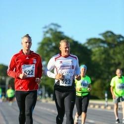 SEB Tallinna Maraton - Antti Sadeharju (522), Arttu Sadeharju (523)