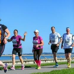 SEB Tallinna Maraton - Esa Nieminen (1569), Helena Pennanen (2049), Katariina Pekkala (2050)