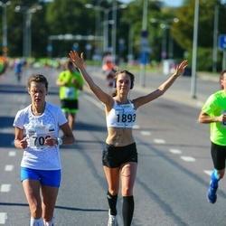 SEB Tallinna Maraton - Maret Volens (708), Birgitti Pilvet (1893)