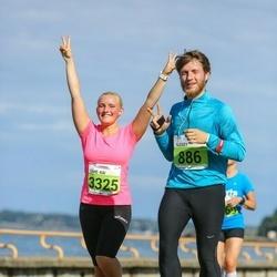 SEB Tallinna Maraton - Alexey Novikov (886), Tähe-Kai Tillo (3325)